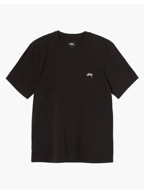 Stussy Stock logo crew tee - black Stussy T-shirt 70,00€