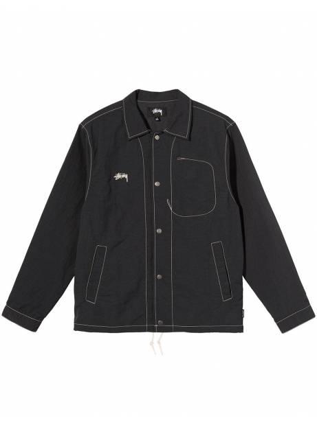 Stussy Folsom coach jacket - black Stussy Jacket 150,00€