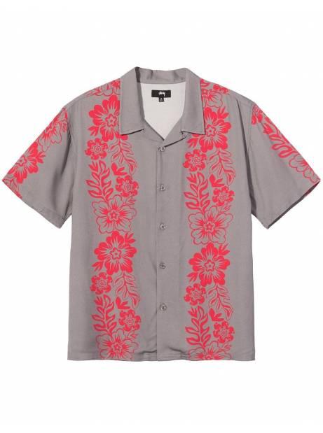 Stussy Hawaiian pattern shirt - grey Stussy Shirt 149,00€