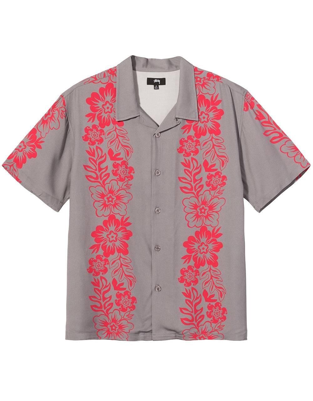Stussy Hawaiian pattern shirt - grey Stussy Shirt 122,13€