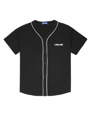 Usual Home Run Baseball Shirt - black Usual T-shirt 116,00 €