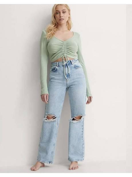 NA-KD wide leg denim - light blue NA-KD Jeans 60,00€
