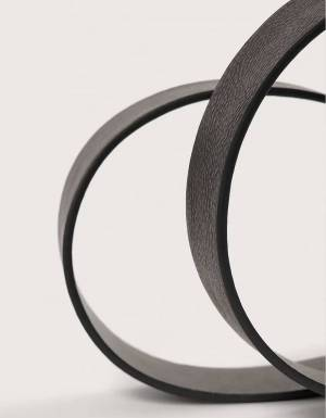 NA-KD ornament buckle belt - black NA-KD ACCESSORIES 20,49€