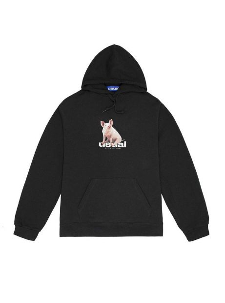 Usual Piggy Hooded Sweatshirt - black Usual Sweater 72,95 €