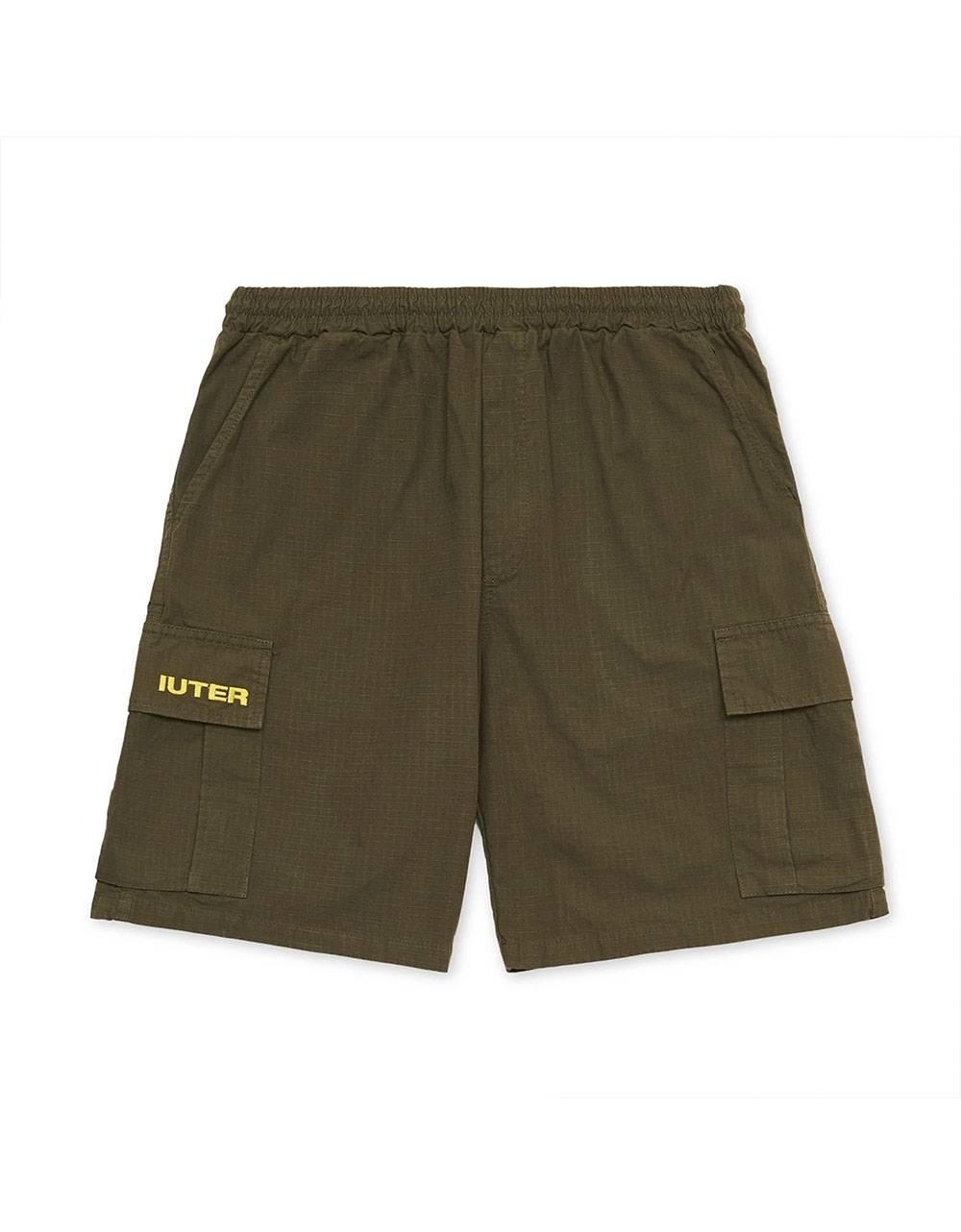 Iuter Ripstop Cargo shorts - army IUTER Shorts 99,00€