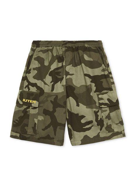 Iuter Cargo camo shorts - army IUTER Shorts 97,54€