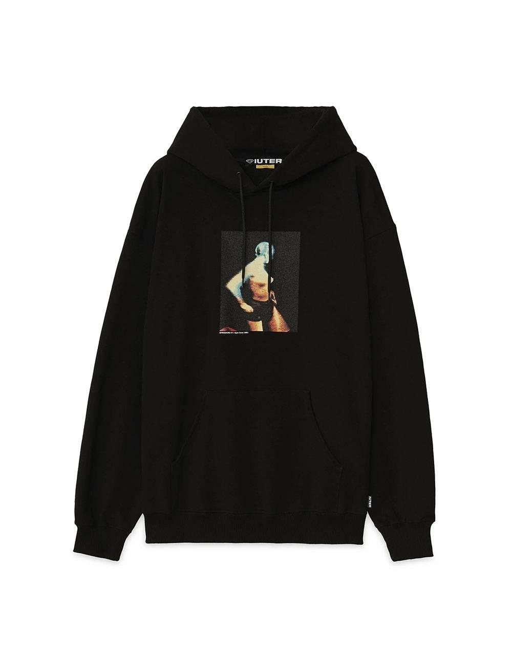 Iuter Frigidaire Pola hoodie - Black IUTER Sweater 120,00€