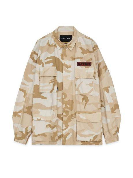 Iuter Struggle overshirt jacket - Beige IUTER Light jacket 190,00€
