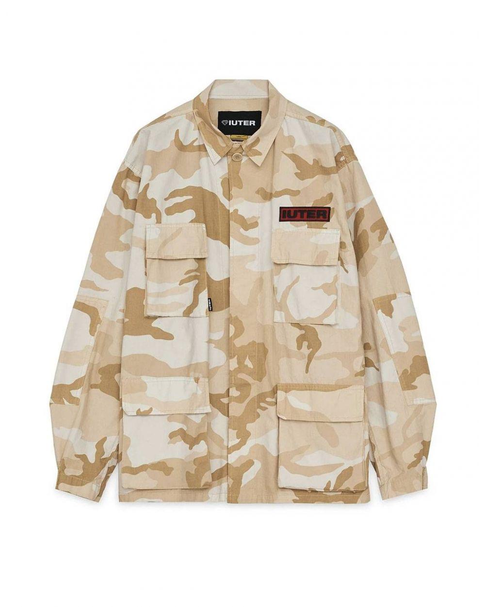 Iuter Struggle overshirt jacket - Beige IUTER Light jacket 199,00€