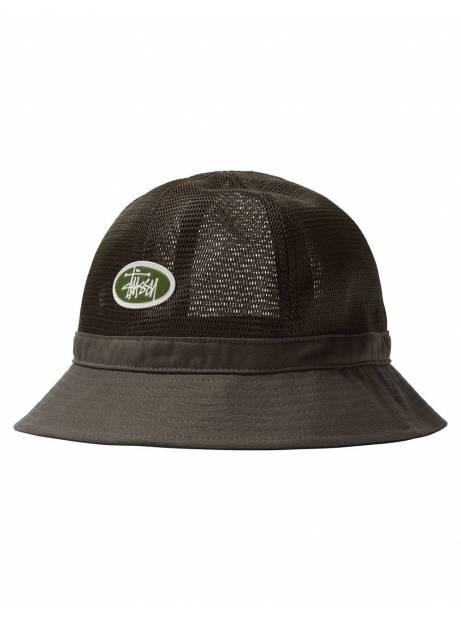 Stussy Mesh crown bell bucket hat - olive Stussy Hat 50,82€