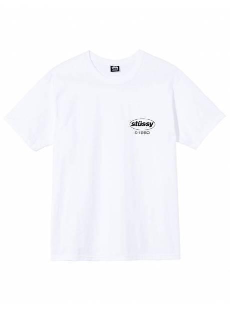 Stussy Soul tee - white Stussy T-shirt 45,08€