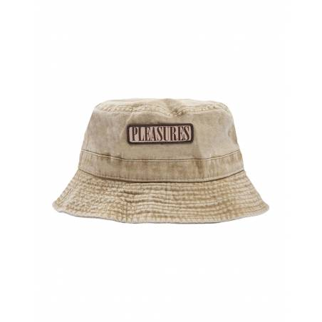 Pleasures Spank bucket hat - washed khaki Pleasures Hat 48,36€