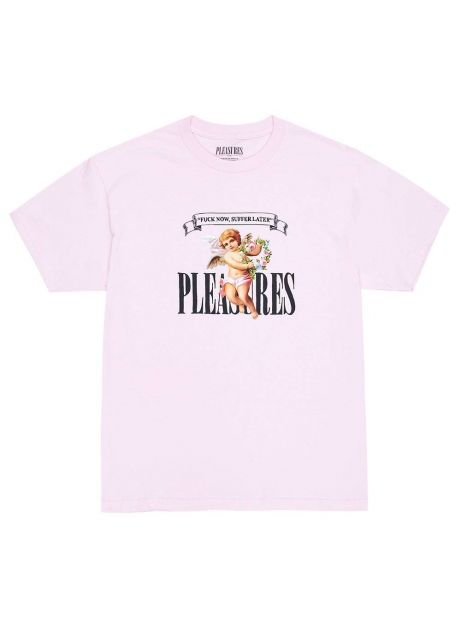 Pleasures Suffer t-shirt - pink Pleasures T-shirt 45,08€