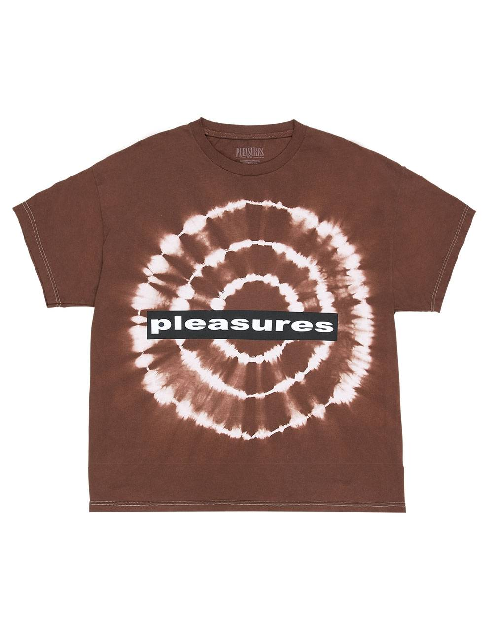 Pleasures Surrealism tye dye t-shirt - brown Pleasures T-shirt 60,00 €