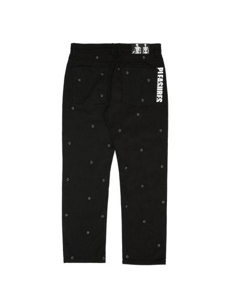 Pleasures Village rivet denim pants - black Pleasures Jeans 130,00€