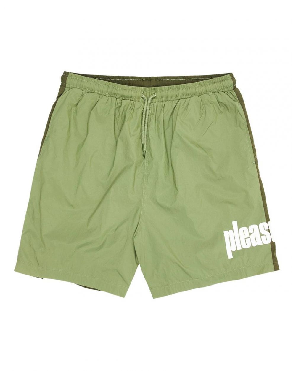 Pleasures Active shorts - electric green Pleasures Shorts 89,00€