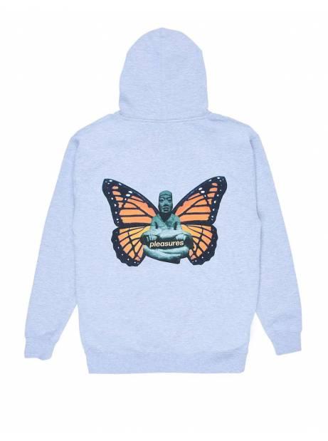 Pleasures Meditate hoodie - heather grey Pleasures Sweater 115,00€