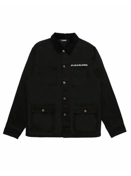 Pleasures Spike chore jacket - black Pleasures Light jacket 138,52 €