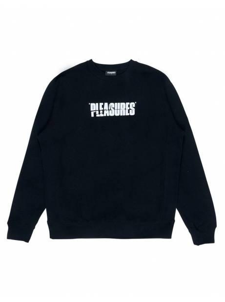 Pleasures Strees jazz premium crewneck sweater - black Pleasures Sweater 97,54 €