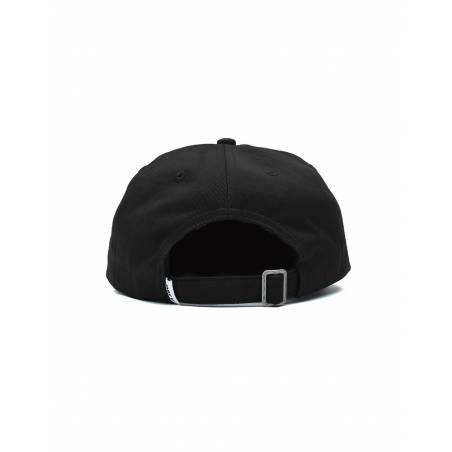 Obey bold label organic 6 panel strapback hat - black obey Hat 36,89€