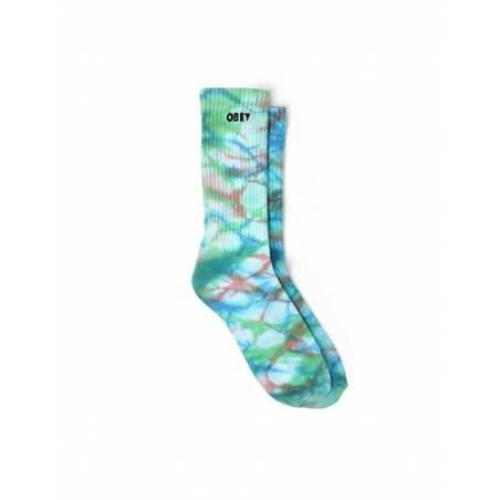 Obey Mountain socks - blue beat multi obey Socks 16,39€