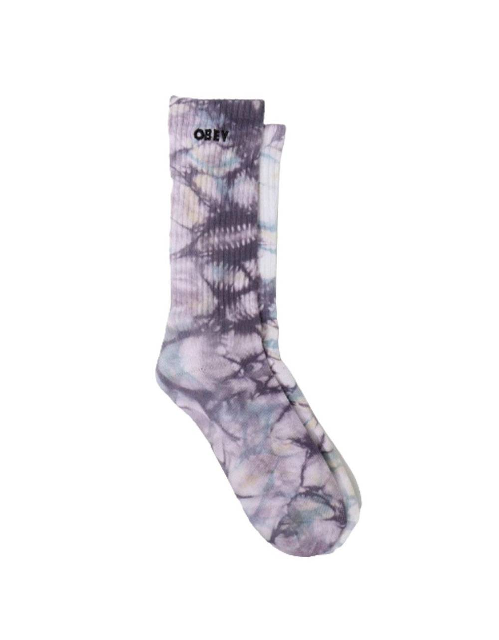 Obey Mountain socks - purple nitro multi obey Socks 16,39€