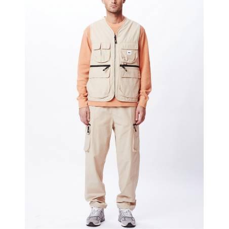 Obey Warfield vest jacket - humus obey Light jacket 156,00€