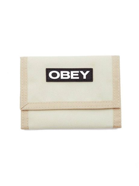 Obey commuter tri fold wallet - khaki obey Wallet 26,23€
