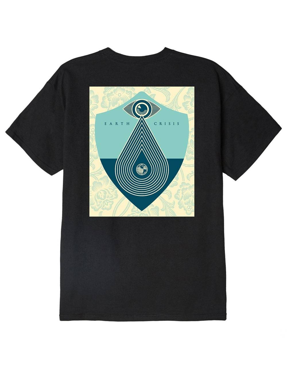 Obey Earth crisis classic t-shirt - black obey T-shirt 45,00€