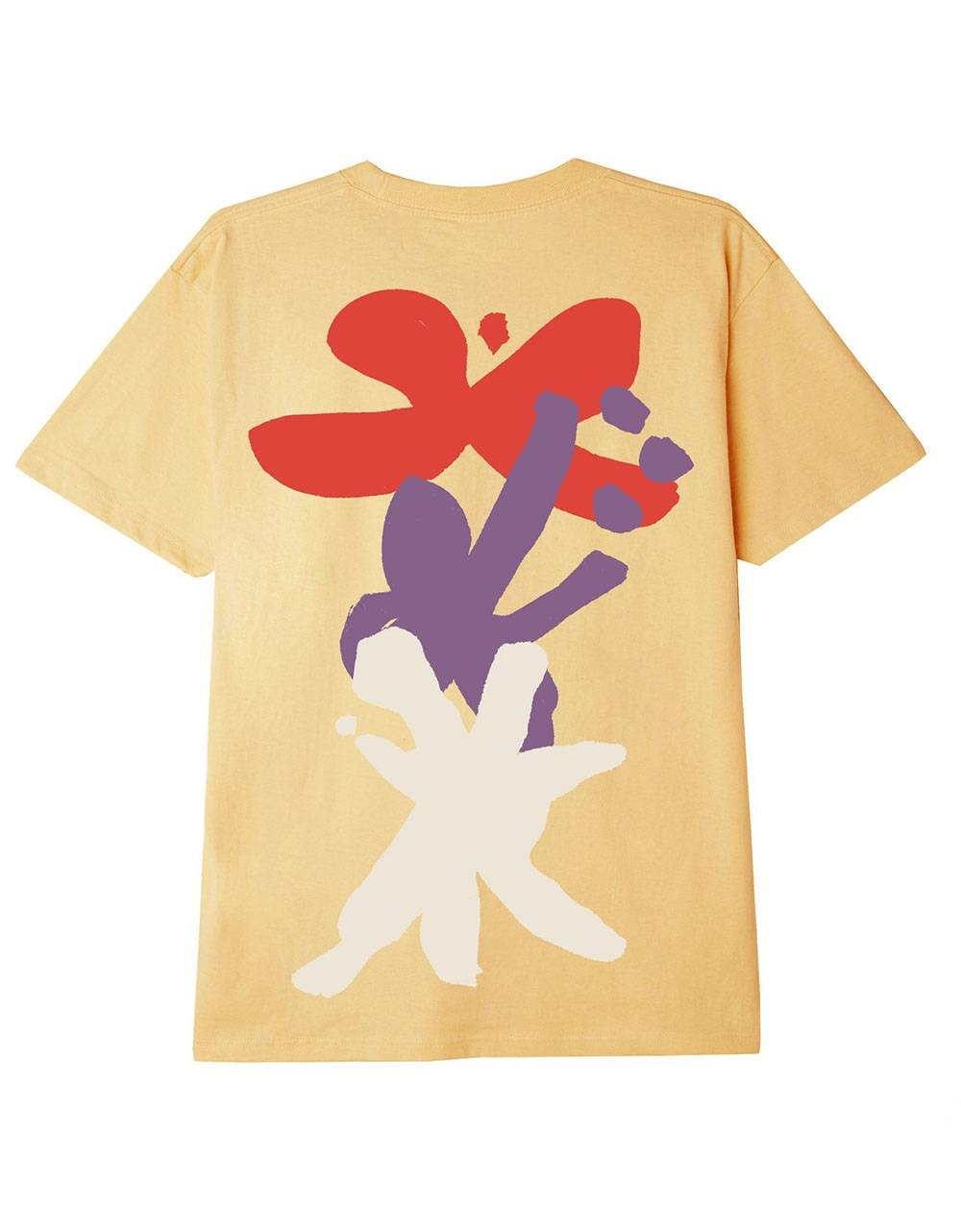 Obey Flower dance sustainable t-shirt - croissant obey T-shirt 55,00€