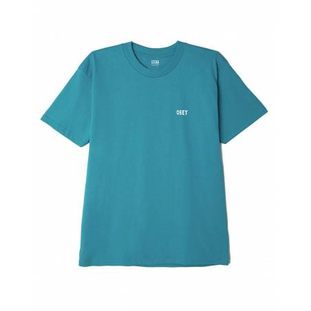 Obey mass seduction classic t-shirt - teal obey T-shirt 46,00€