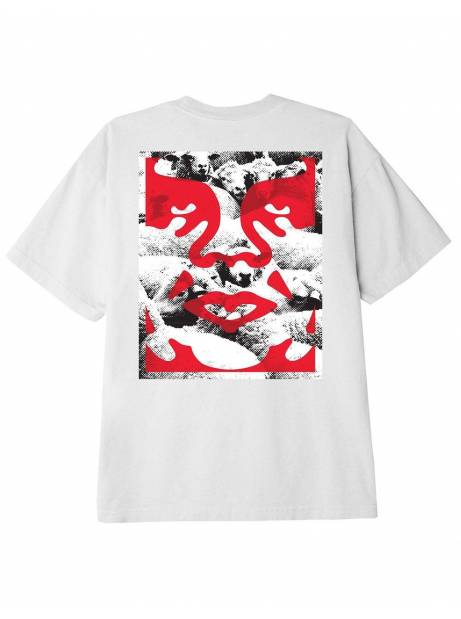 Obey seduction of the masses classic t-shirt - white obey T-shirt 37,70€