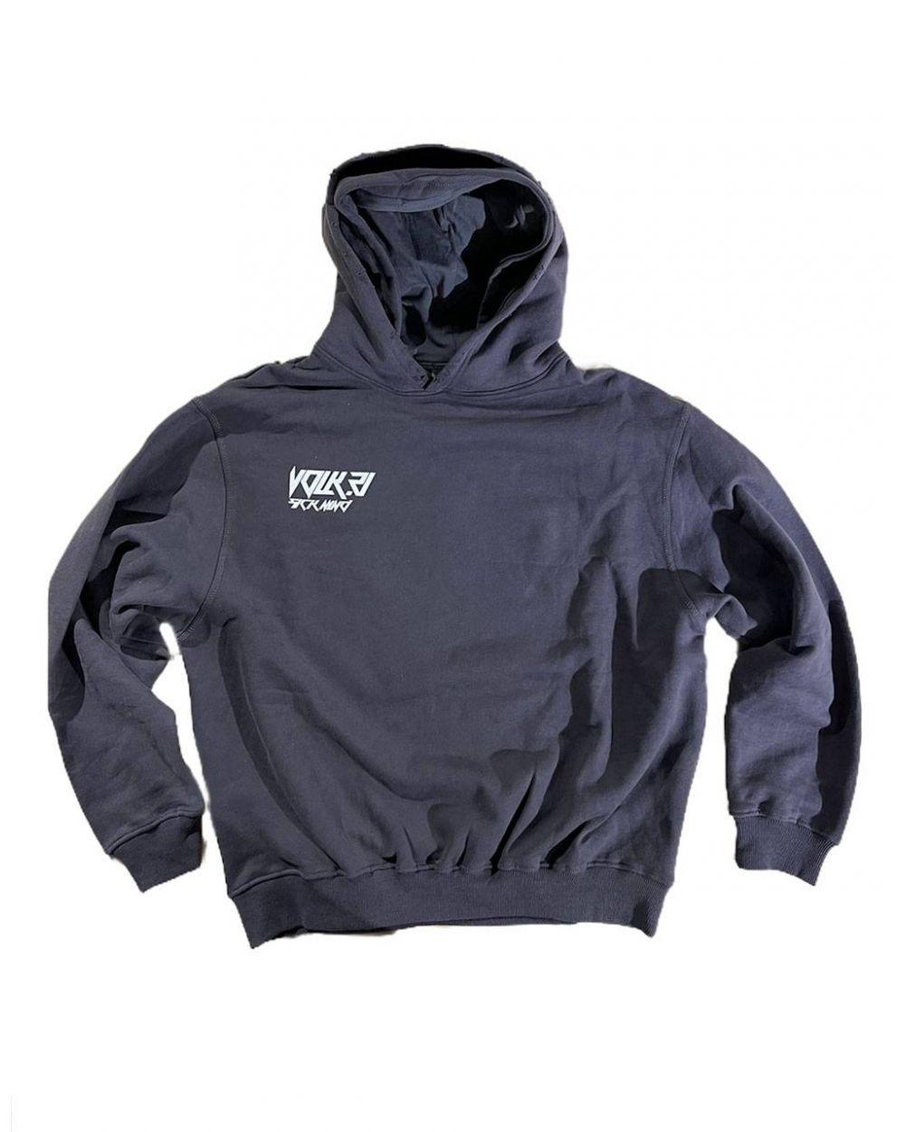 Volk sick mind Box fit hoodie - off black VOLK Sweater 113,93€