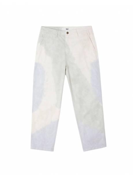 Obey Tie dye hardwork carpenter pants - good grey multi obey Pant 110,00€