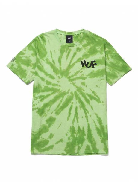 Huf Haze brush tie dye t-shirt - lime Huf T-shirt 55,00 €