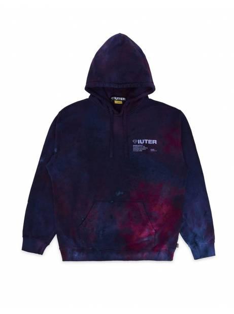 Iuter Disaster Hoodie - purple tie dye IUTER Sweater 125,00€