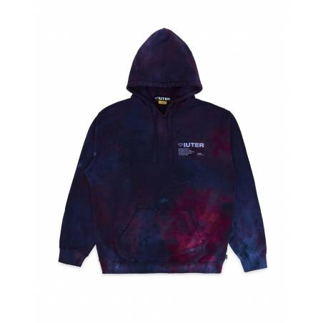 Iuter Disaster Hoodie - purple tie dye IUTER Sweater 132,00€