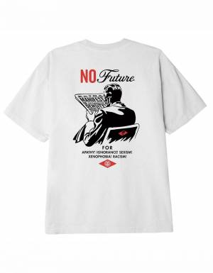 Obey No future classic t-shirt - white obey T-shirt 37,70€