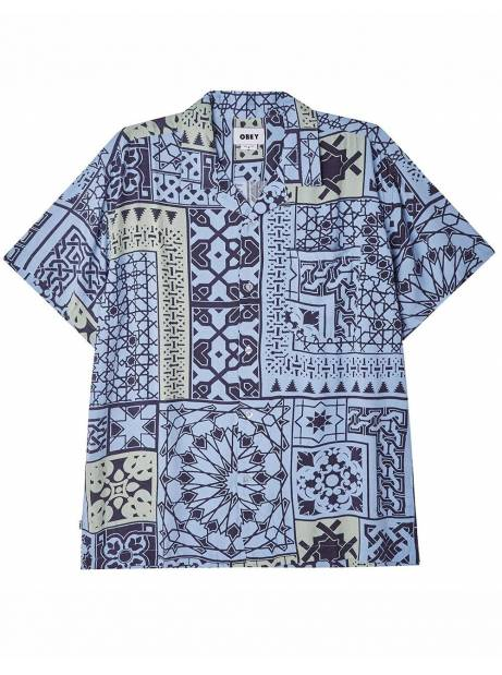 Obey Pathos shirt - navy multi obey Shirt 73,77€
