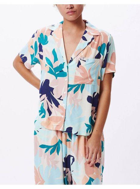 Obey Woman decoupage shirt - pecan multi obey Shirt 77,87€