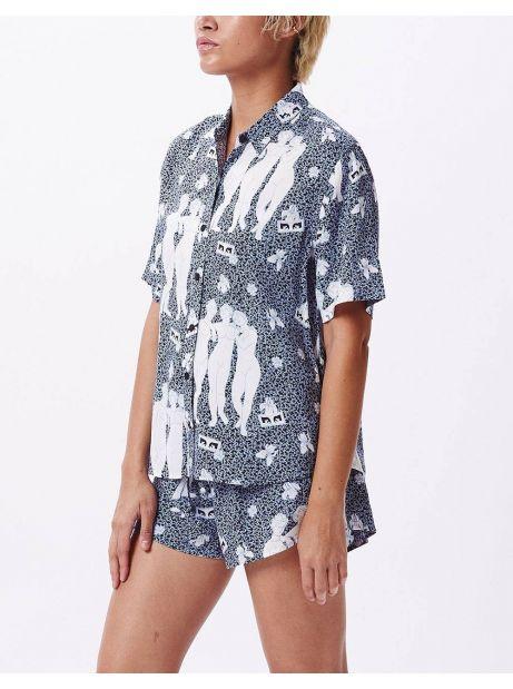 Obey Woman free birds shirt - sapphire multi obey Shirt 77,87€