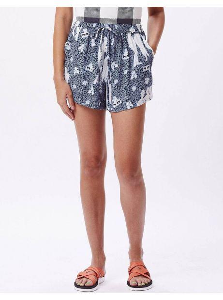 Obey Woman free birds shorts - sapphire multi obey Shorts 69,67€