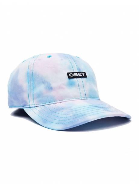 Obey Woman Kalsman hat - purple tie dye obey Hat 45,00€