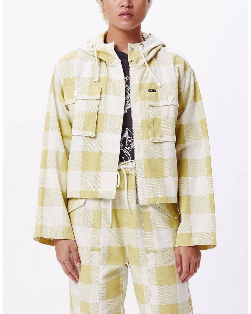 Obey Woman provence jacket - grass multi obey Light Jacket 142,00€