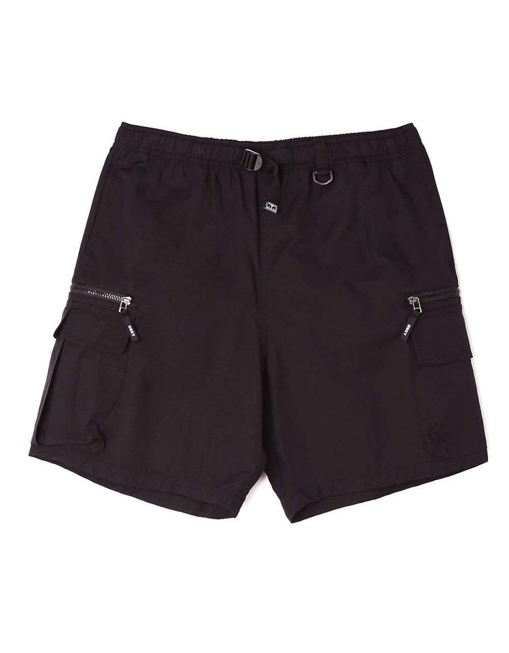 Obey Warfield trek shorts - black obey Shorts 95,00€
