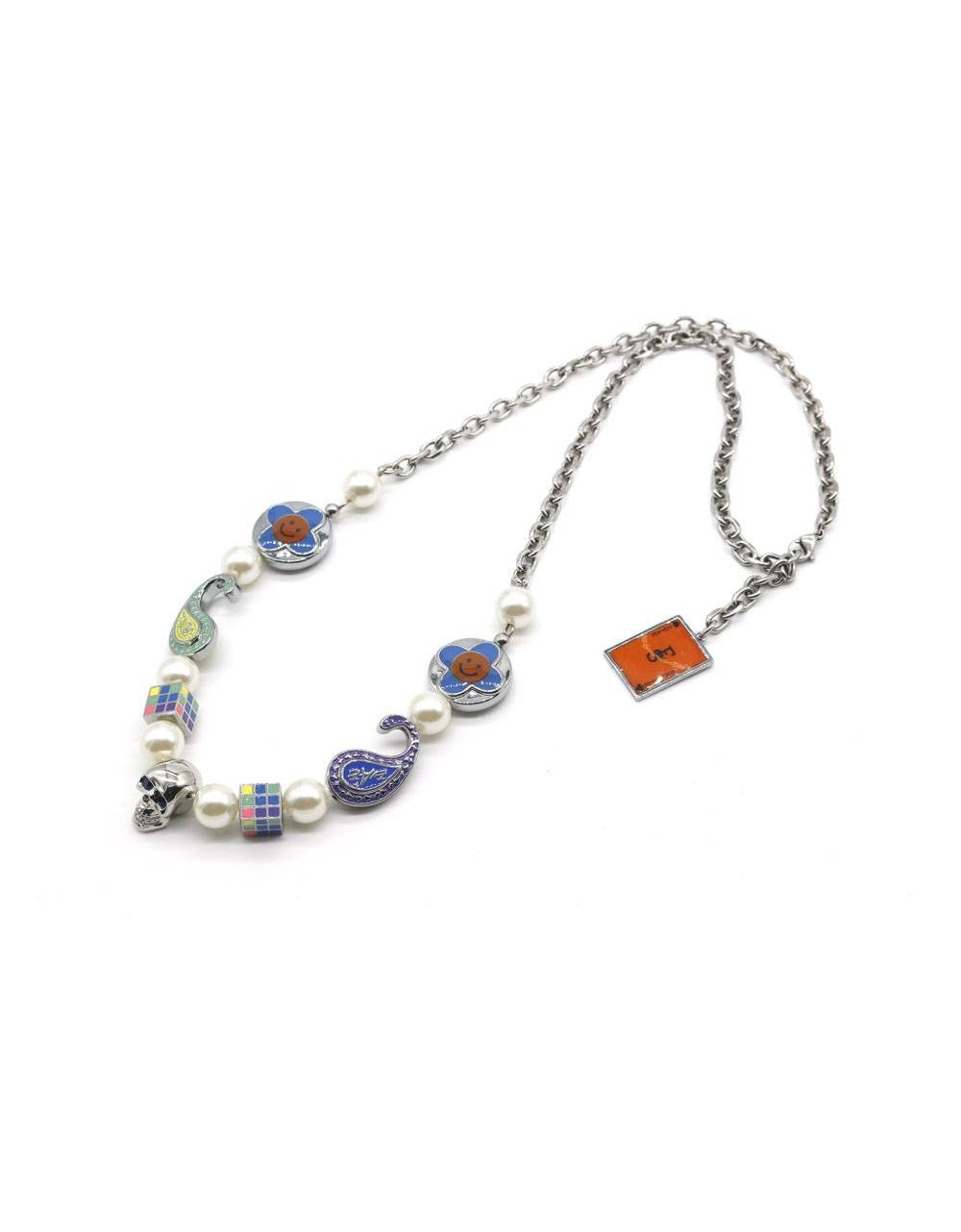 Salute + Evae Flower skull necklace Evae Necklace 102,46€