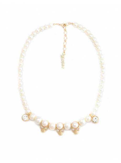 Salute + Evae Skull pearl necklace Evae Necklace 97,54 €