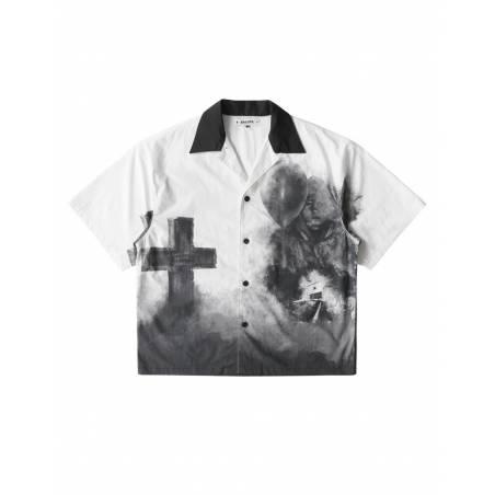 Salute HK Cross box fit shirt - white Salute HK Shirt 126,00€
