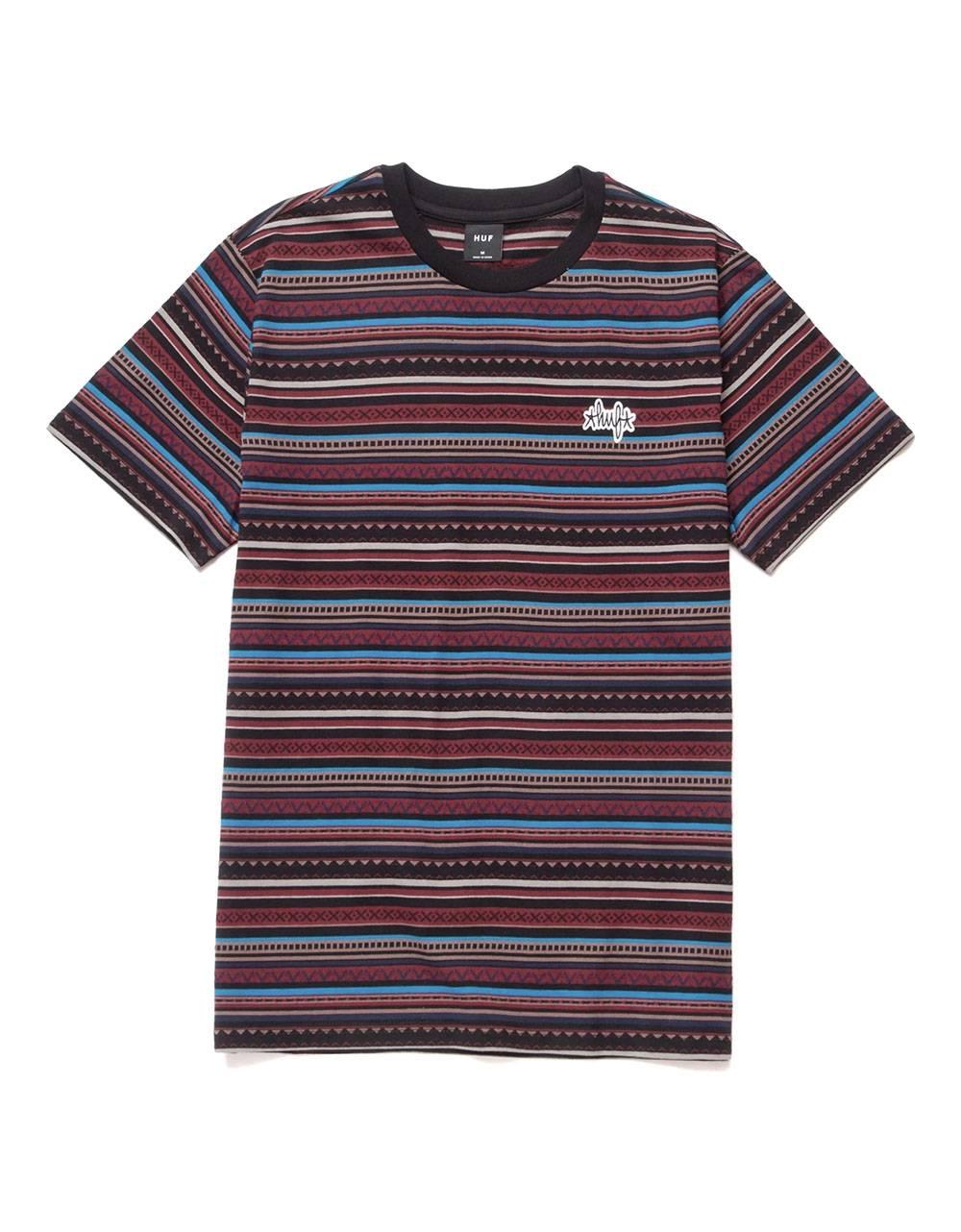 Huf Topanga knit top tee - navy blazer Huf T-shirt 53,28€
