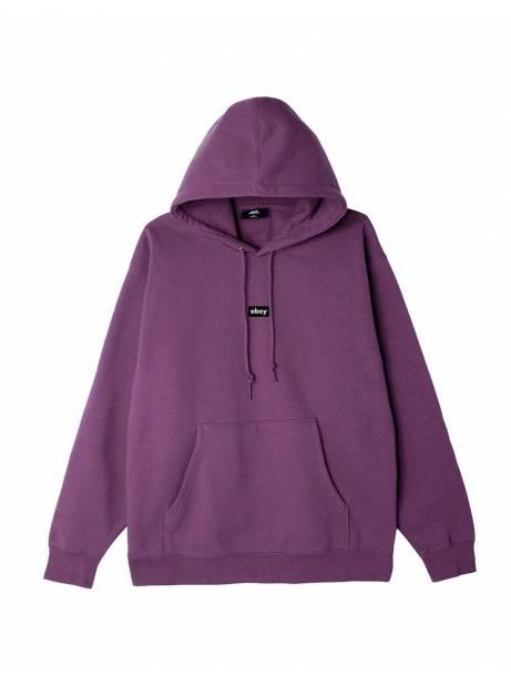 Obey Black bar premium hoodie - purple nitro obey Sweater 81,15€
